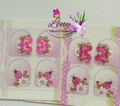 Manicure And Pedicure, Nail Art, Instagram, Diva, Pasta, Nail Stickers, Nail Jewels, Art Nails, Flower Nails