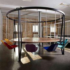 Кресла-качели от DUFFY LONDON #FAQinDecor #design #decor #architecture #interior #art #дизайн #декор #архитектура #интерьер