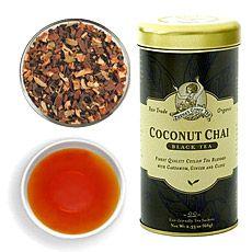 i am addicted to this coconut chai tea.