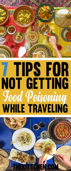 Are you heading abroad? These 7 simple travel tips could help save you from a vacation spent running to the bathroom! Click to learn how to avoid a travel disaster! #travel ***************************************** Travel tips and tricks | Travel tips international | Food poisoning | How to avoid food poisoning | Food poisoning tips | Food poisoning travel