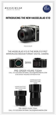 全球首款中片幅無反相機 Hasselblad X1D 提前曝光   HYPEBEAST