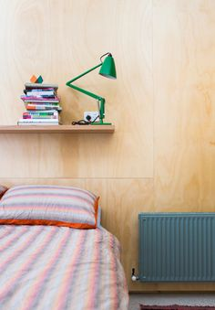 plywood-headboard-plywood-office-Australian architect-Rodney Eggleston-photo-thed-sign-files