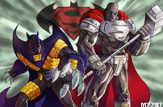 Knightfall Batman & Steel