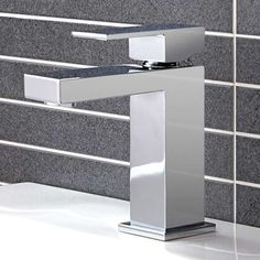 View the Mono Basin Mixer - Cube Range. Finance options & free delivery available, shop now! Shower Mixer Taps, Amazing Bathrooms, Better Bathrooms, Basin Mixer Taps, Shower Enclosure, Bathroom Furniture, Chrome Finish, Filing Cabinet, Cube