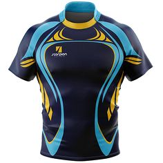 Scorpion Sports UK printed Rugby Shirts from just 6 in your own bespoke design or colour.