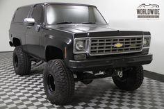 1975 Chevrolet Blazer K5  Lifted! 4x4! 350 V8! Auto! Convertible Top! in Denver, Colorado