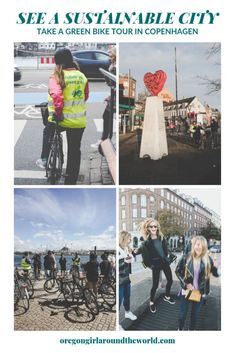 See a Sustainable City in Action on a Green Bike Tour of Copenhagen - My Style Food Capital Of Denmark, Sustainable City, Climate Change Effects, Green Architecture, Like A Local, Group Tours, Capital City, Walking Tour, Public Transport