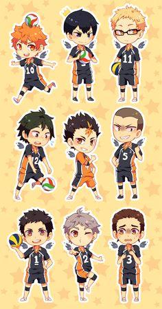Haikyuu!! stickers