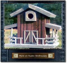 birdhouses | BIRDHOUSES PLANS | Find house plans
