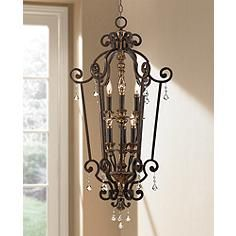 "Marquette Collection 27"" Wide Entry Chandelier"