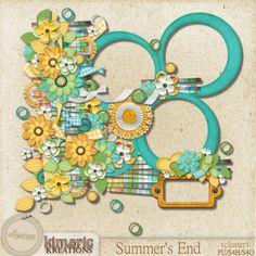 Scrapbooking TammyTags -- TT- Designer - Kimeric Kreations,  TT - Item - Frame, TT - Style - Cluster, TT - Thing - Flower