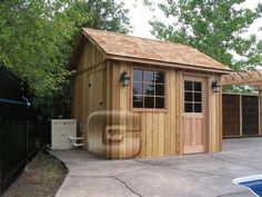 images about pool on Pinterest Pool shed Storage