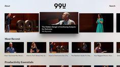 99U Apple TV App