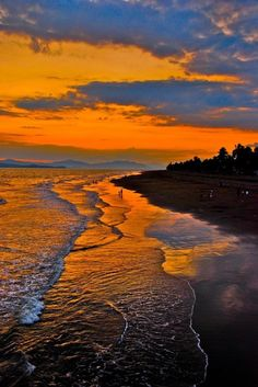 Costa Rica Sunset.