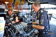 Tony Schumacher  & Team Racing at the 2015 US Nationals in INDY in the US ARMY Nitro Dragster