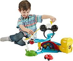 Amazon.com: Fisher-Price Disney Mickey Mouse Clubhouse Zip, Slide and Zoom Clubhouse: Toys & Games