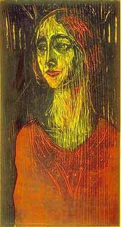 Edvard Munch - Birgitte  Date unknown
