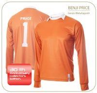 La camiseta de Benji Price. El portero más famoso de la serie Oliver y Benji