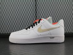 """d97ce4f77892dd OFF-WHITE x Nike Air Force 1 Low """"WHITE"""" AA8152-700"""