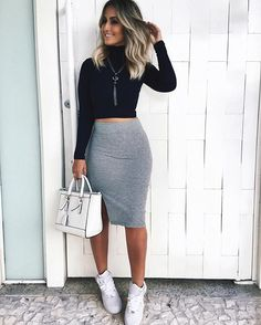 Cute Dresses For After Prom Cute Casual Outfits, Stylish Outfits, Summer Outfits, Summer Dresses, Cute Fashion, Skirt Fashion, Fashion Outfits, Festival Make Up, Skirt And Sneakers