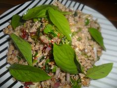 Laab Moo...Thai Pork Salad