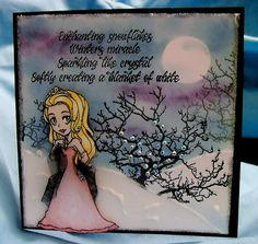Image Stamp, Pretty Cards, Stamping, Wonderland, Projects To Try, Card Making, Backgrounds, Blog, Christmas