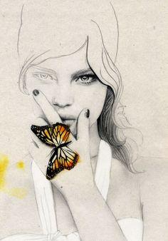 Elisa Mazzone Fashion Illustrations by voodkaas