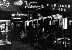 """""""Old Vienna"""" auf dem Kurfuerstendamm 60er Jahre"""