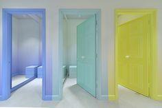 Retail Design | Store Interiors | Shop Design | Visual Merchandising | Retail Store Interior Design | Changing Rooms | Pepe Jeans concept store by Caulder Moore Barcelona Spain