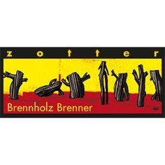 zotter Schokoladen Manufaktur: Handgeschöpft / Brennholz-Brenner