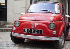 Paris-Merci Car // Photo by Adrienne Barber