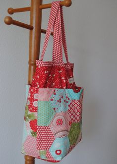the Claire diaper or travel bag (pdf sewing pattern). $12.00, via Etsy.