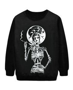 Gothic Print Halloween Seris Sweatshirt | BlackFive Attn Ladies!! I've recently partnered with BlackFive Clothing Company!! Check out this sweatshirt and the rest of their clothing and accessory lines! Great Prices! http://www.blackfive.com/p/gothic-print-halloween-seris-sweatshirt-25324?b=pin=wendy