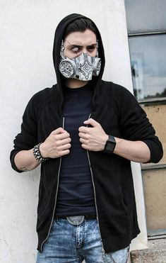 THE KEEPER Resin Half-Face Gas Mask