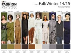 Fall Fashion Colors 2014 | Fall/Winter 2014/2015 Runway Color Trends | Nidhi Saxena's blog about ...
