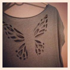 Back slash design pinterest images for do it yourself cut t shirt designs solutioingenieria Images