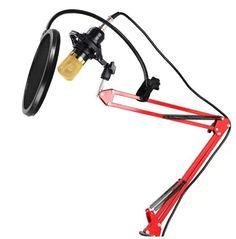 #USB #Studio #Cardioid #Condenser #Microphone #Pop #Filter #Scissor #Suspension #Arm #Set #StudioPro