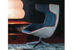 Take a Line for a Walk Quick Ship Lounge Chair by Moroso