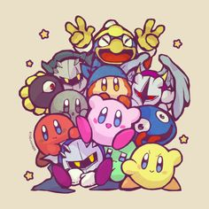 Meta Knight, Dark Meta Knight, and Galacta Knight are my favorites!