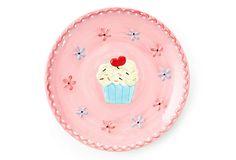 Set of 2 Cupcake Large Plates on OneKingsLane.com