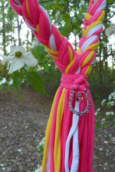 Check out this item in my Etsy shop https://www.etsy.com/listing/230534278/braided-scarf-necklace-in-hot-pink