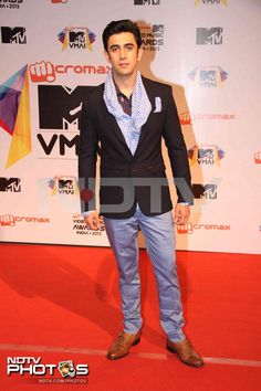 MTV Video Music Awards: Kai Po Che! actor Amit Sadh was suited up for the event.