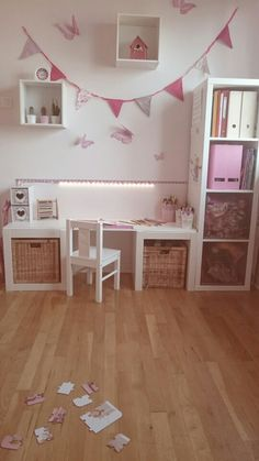 Bureau chambre petite fille