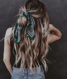 Macy ️ ️ # – Frisuren Ideen Frauen Macy ️ ️ # – Frisuren Ideen Frauen Related posts:Gallery - Hairbyemmac - Wedding Hair Specialist in Cornwall textured updo Easy Hairstyles Step by Step. Scarf Hairstyles, Pretty Hairstyles, Easy Hairstyles, Hairstyle Ideas, Summer Hairstyles, Bandana Hairstyles For Long Hair, Casual Hairstyles, Cute School Hairstyles, Fishtail Braid Hairstyles