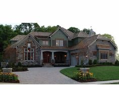 Eplans Craftsman House Plan - Craftsman Delight - 7502 Square Feet and 4 Bedrooms(s) from Eplans - House Plan Code HWEPL11769