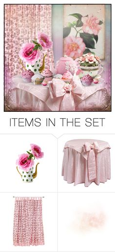 """Tea Party"" by retrocat1 ❤ liked on Polyvore featuring art"