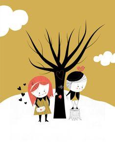 Happy ? Mitou ! Illustration Blog !!!!: Happy Valentine !!!