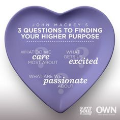 Finding your higher purpose All You Need Is, Super Soul Sunday, Mind Body Soul, Life Purpose, Thought Provoking, Love Life, Inspire Me, Me Quotes, Sunday Quotes