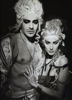 The Face - Gisele Bundchen and John Galliano    #marianatonieta#luxury#the face