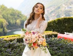 """EP Makeup & Hair Lake Como on Instagram: """"Choose a fairytale place where you can make your dream come true and choose to be beautiful! . . . . . . . . . . . . . Makeup I used…"""" Bridal Makeup, Wedding Makeup, Lake Como Wedding, Dream Come True, Hair Designs, Luxury Wedding, Fairytale, Milan, Wedding Hairstyles"""